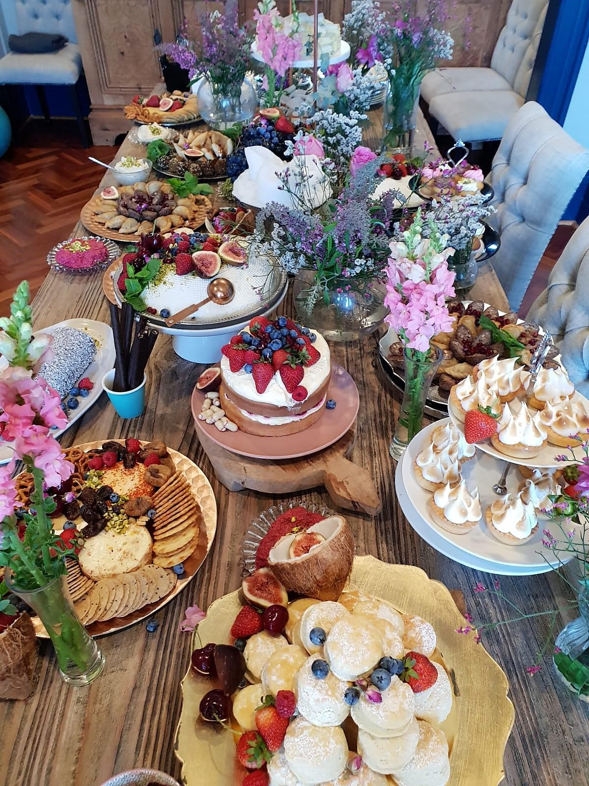 High Tea Grazing Table Feast_The Sydney Platter Society